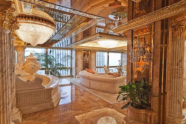 صور من داخل المنزل دونالد ترامب