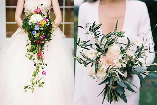 تعرفي الى باقة أزهار العروس لخريف 2017