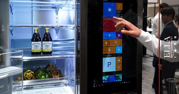 LG تطلق ثلاجة ذكية وروبوت ذكي يساعد في الأعمال المنزلية!